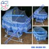 BB32. BABY BOX BAYI PLIKO CRADDLE BLUE 5
