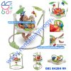 BJ03. RAINFOREST JUMPEROO FISHER PRICE