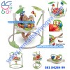 BJ09. RAINFOREST JUMPEROO FISHER PRICE 3