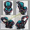 CS17. INFANT TO TOODLER CARSEAT BABYDOES HD DINO BLUE